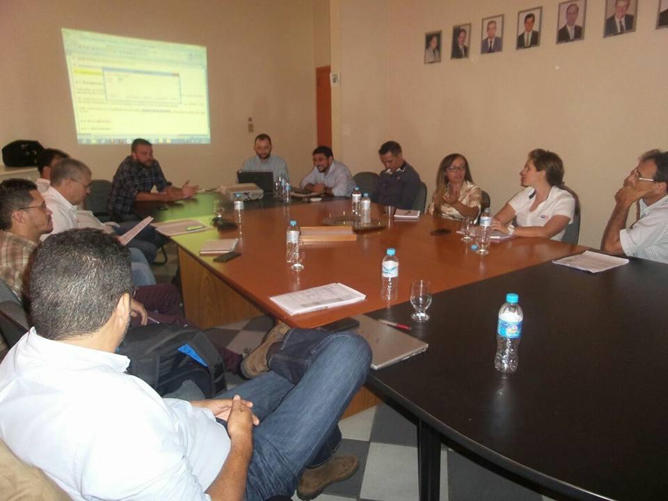 Comitê Brasileiro de Cerâmica Vermelha, realiza reunião na ACERVIR.