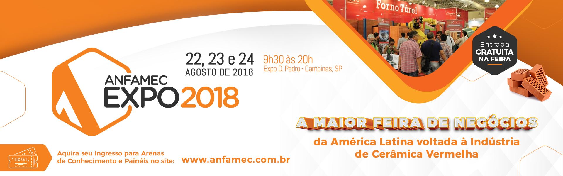 ANFAMEC – EXPO 2018