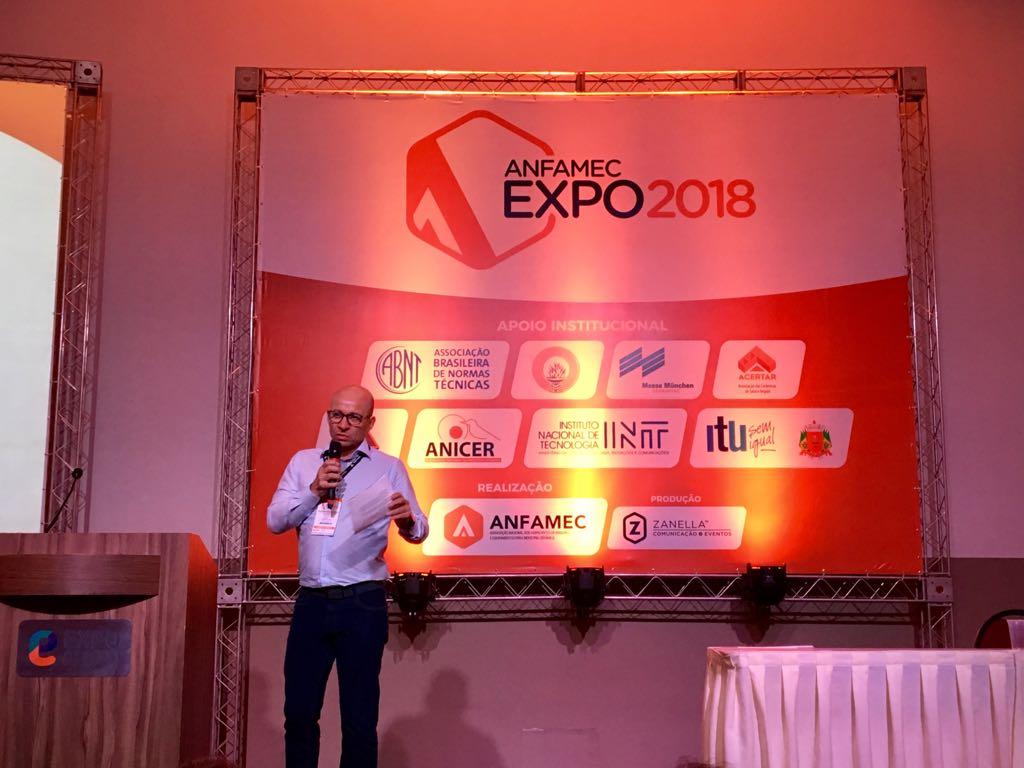 O PRESIDENTE DA ACERVIR MARCOU PRESENÇA NA ANFAMEC-EXPO 2018