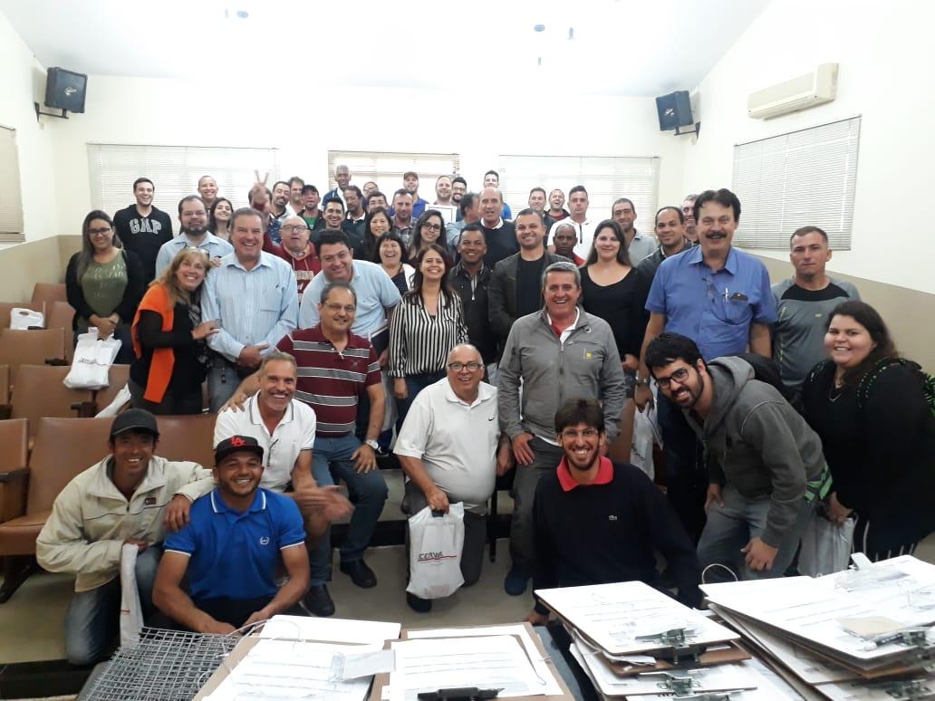 REALIZAÇÃO DO TREINAMENTO DE APLICABILIDADE NO ÚLTIMO SÁBADO, 06/10/2018, NA ACERVIR!!!