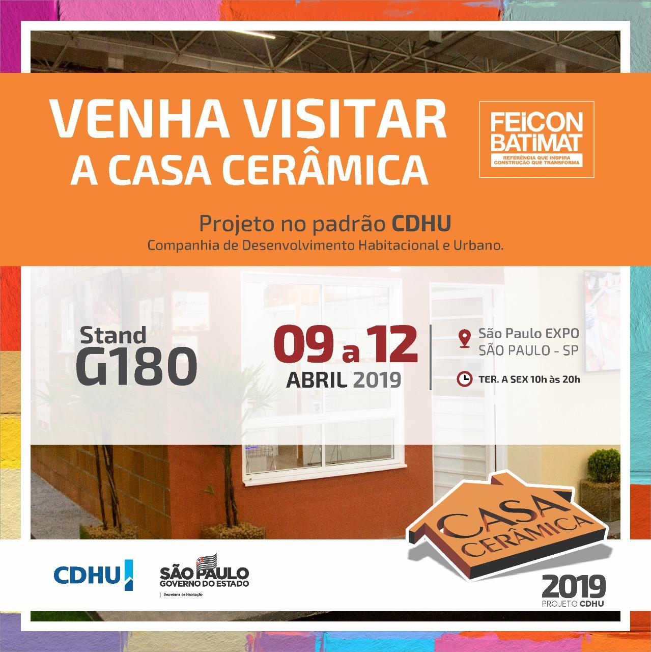 A ACERVIR ESTARÁ PRESENTE A FEICON-BATIMAT 2019, JUNTO A CASA CERÂMICA!