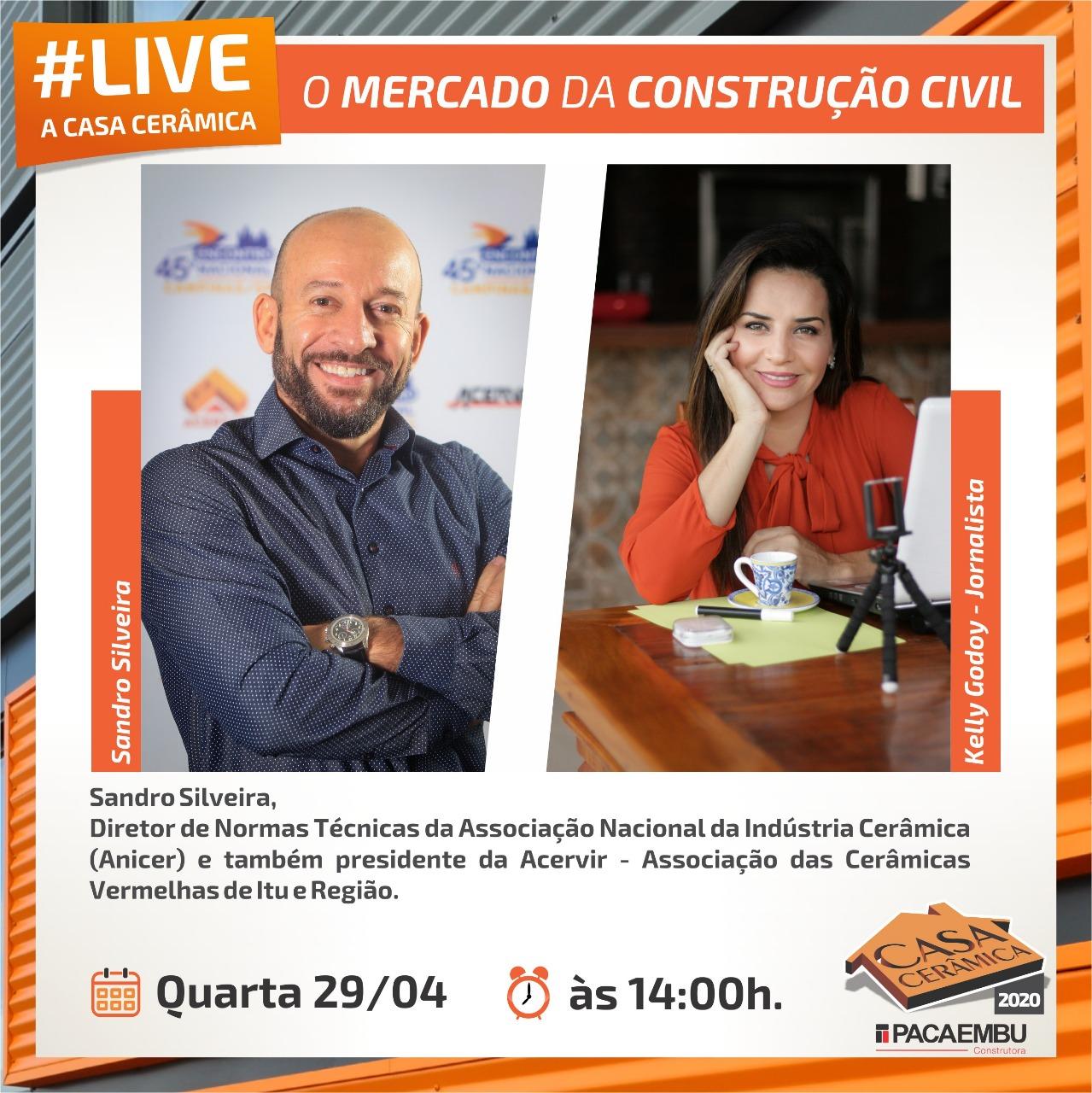O PRESIDENTE DA ACERVIR ESTARÁ PARTICIPANDO DE UMA LIVE PELA CASA CERÂMICA .NÃO PERCA!!!!