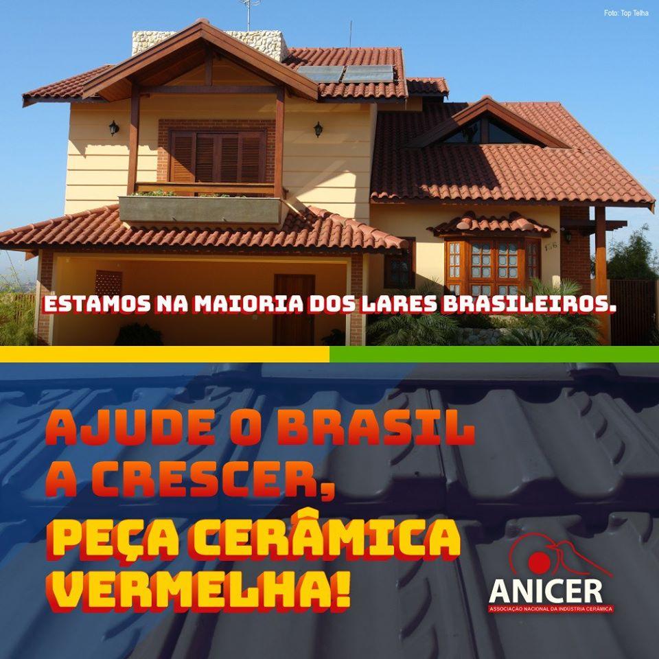 A ANICER LANÇOU UMA NOVA CAMPANHA – AJUDE O BRASIL A CRESCER, PEÇA CERÂMICA VERMELHA!!!